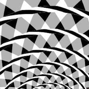 ¿Eres capaz de ver los espirales en esta imagen?