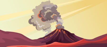 ¿Hay volcanes en el fondo del mar?